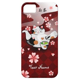 Customizable Maneki Neko Teapot Tea case iPhone 5 Case