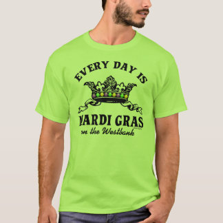 Customizable Mardi Gras T-Shirt