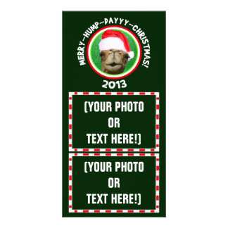 Customizable Merry Hump Day Christmas Photo Cards