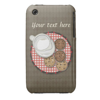 Customizable Milk and Cookies iPhone 3 Case