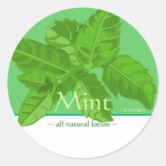 Customizable Mint Stickers