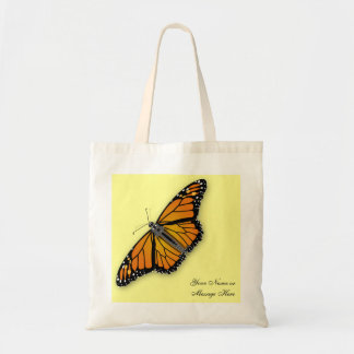 Customizable Monarch Tote Bag