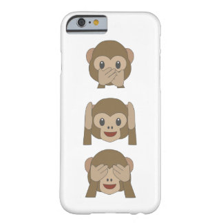 Customizable Monkey Emoji iPhone-Case Barely There iPhone 6 Case