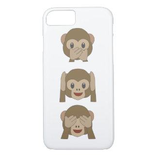 Customizable Monkey Emoji iPhone-Case iPhone 7 Case