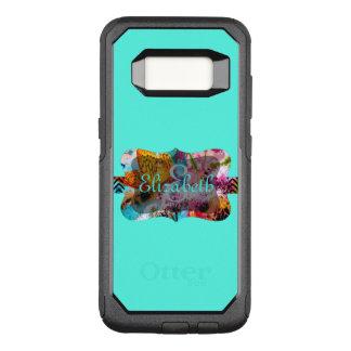 Customizable Monogram OtterBox Commuter Samsung Galaxy S8 Case