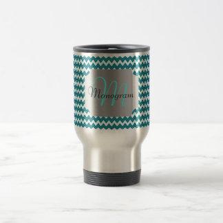 Customizable Monogram Travel Mug