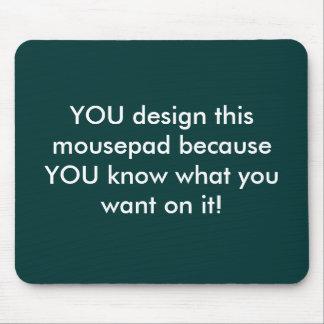Customizable mousepad