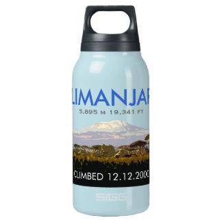 Customizable Mt Kilimanjaro Climb Commemorative Insulated Water Bottle