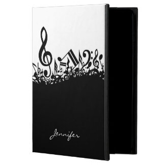 Customizable Musical Notes iPad Air Cases
