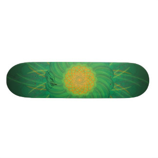 Customizable Nature (Psychedelic spirograph) 19.7 Cm Skateboard Deck