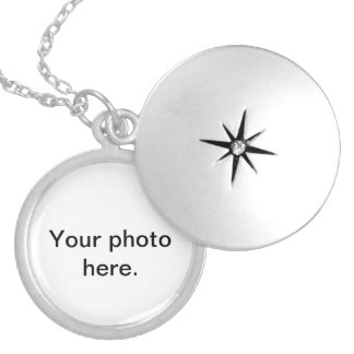 Customizable necklaces. Add your chosen photo. Silver Plated Necklace