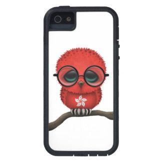 Customizable Nerdy Hong Kong Baby Owl Chic iPhone 5 Case