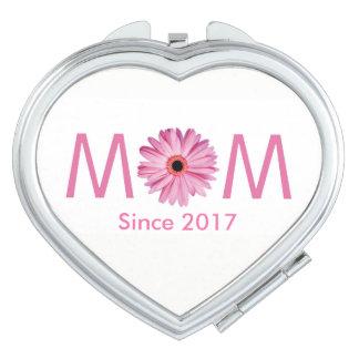 Customizable New Mother Makeup Mirror