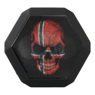 Customizable Norwegian Flag Skull Black Boombot Rex Bluetooth Speaker