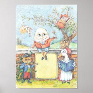 Customizable Nursery Rhyme poster