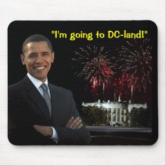 Customizable Obama DC Mousepad