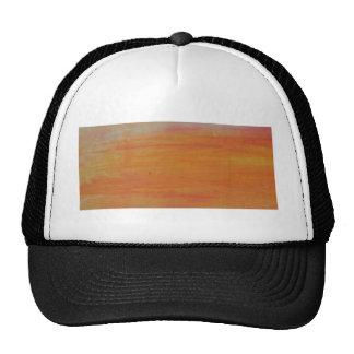 Customizable Orange Background Cap