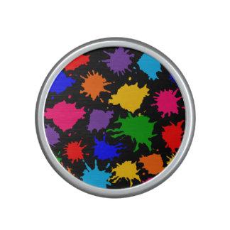 Customizable Paint Splatter Speaker