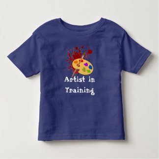 Customizable Painter Print Toddler T-Shirt