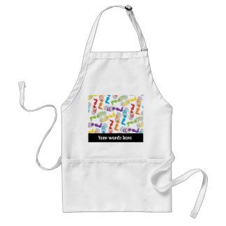 Customizable painters fun working apron