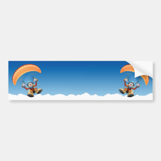Customizable Paramotor Bumper Sticker