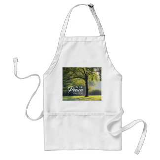 Customizable Peaceful Tree Standard Apron