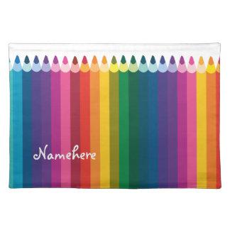 Customizable: Pencil stripe Placemat