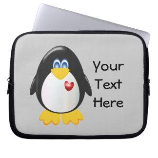 Customizable Penguin Laptop Computer Sleeves