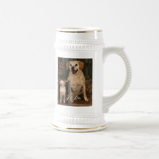 Customizable Pet Beer Mugs