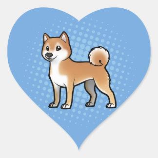 Customizable Pet Heart Sticker