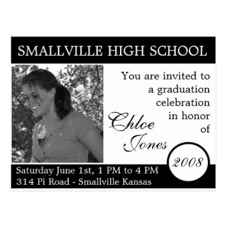 Customizable Photo/Colors Graduation Card Updated