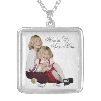 Customizable Photo Keepsake Mother's Day Necklace