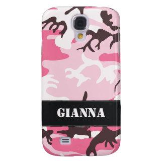 Customizable Pink Camo Galaxy S4 Case