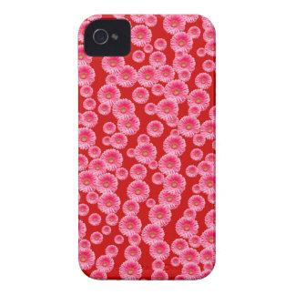 Customizable Pink Gerber Daisies iPhone 4 Covers