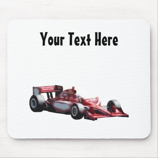 Customizable Plain Race Car Mousepads