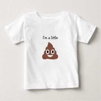 Customizable Poo Emoji Baby T-Shirt