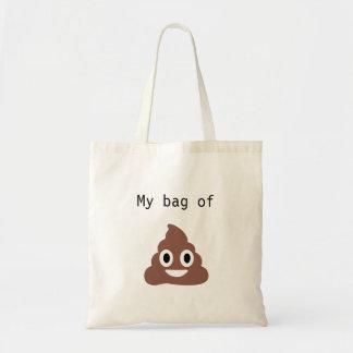Customizable Poo Emoji Tote