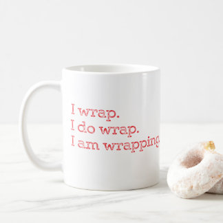 CUSTOMIZABLE Present Tense Giftwrapping Coffee Mug
