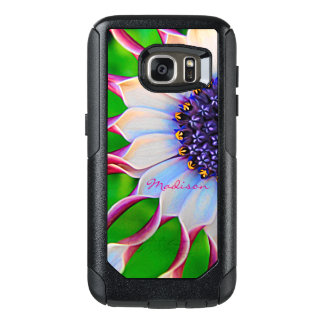 Customizable Purple African Daisy OtterBox Samsung Galaxy S7 Case