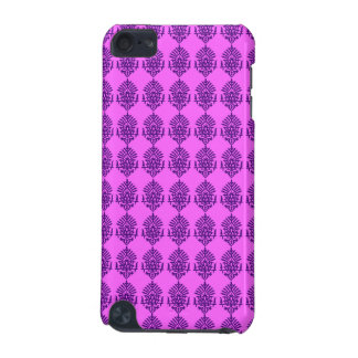 Customizable Purple India Block Print iPod Touch 5G Covers