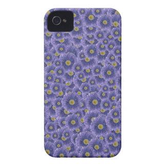 Customizable Purple Mums Case-Mate iPhone 4 Case