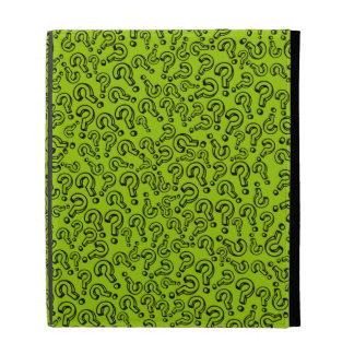 Customizable Question Marks iPad Folio Case