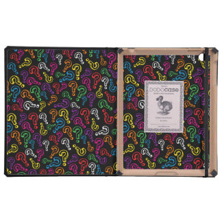 Customizable Question Marks iPad Case
