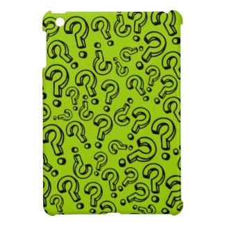 Customizable Question Marks iPad Mini Covers