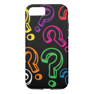 Customizable Question Marks iPhone 7 Case