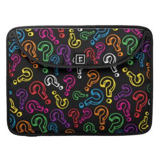 Customizable Question Marks Sleeve For MacBooks