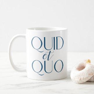CUSTOMIZABLE Quid et Quo Classical Education Coffee Mug
