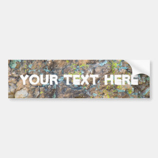 Customizable Quote on Rock | Bumper Sticker