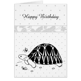 Customizable Radiated Tortoise Card