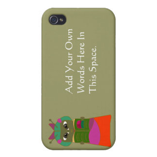 Customizable Reading Bug  Cases For iPhone 4